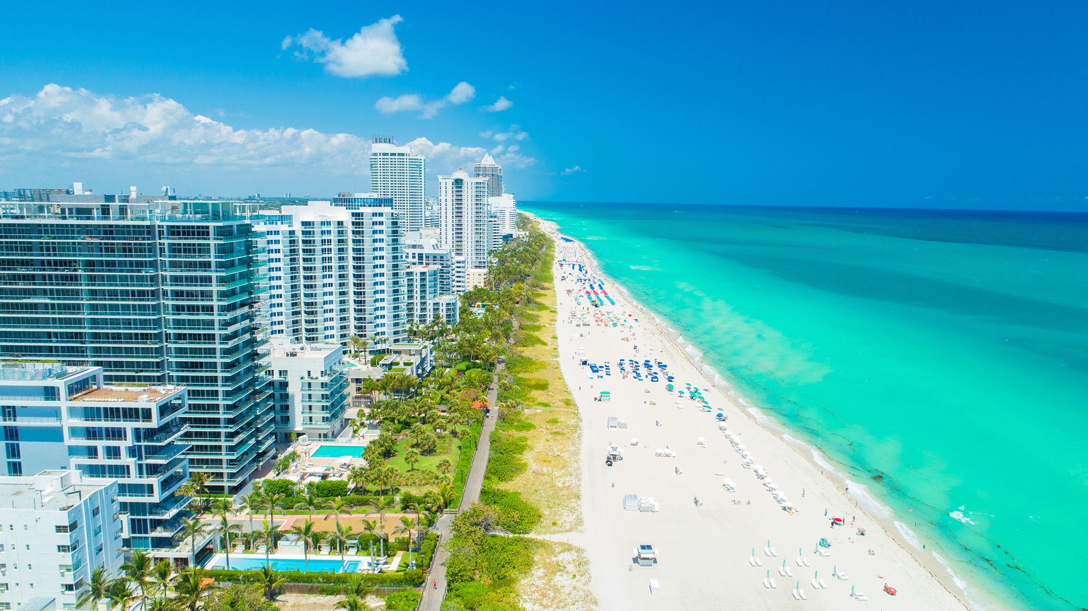Amerika Strand Florida