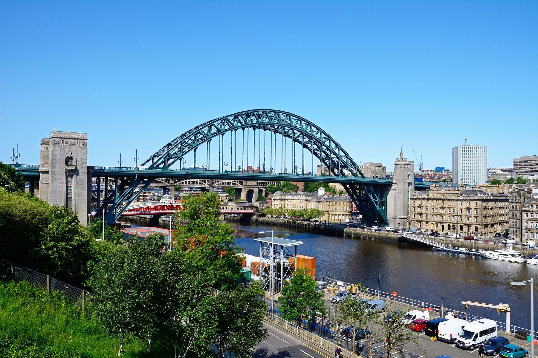 Engeland Brug Newcastle