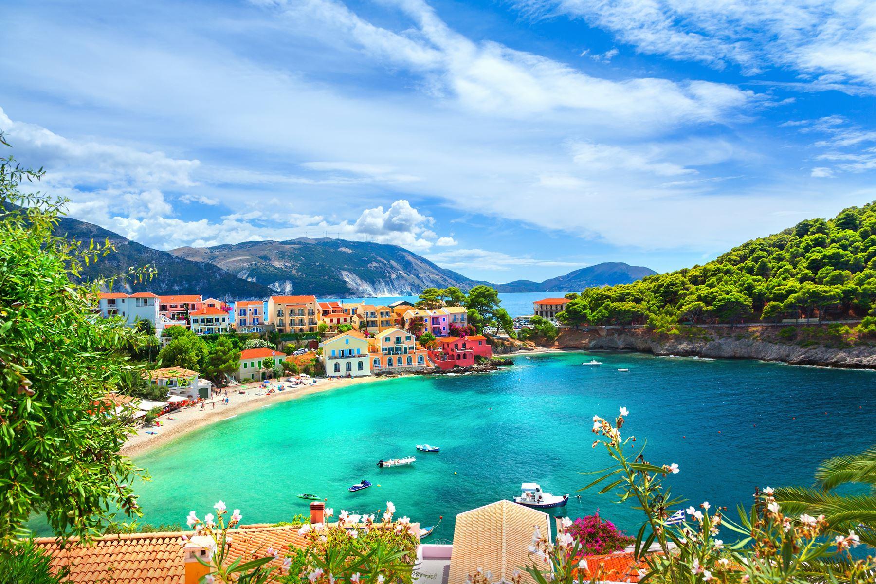 Griekenland Kefalonia Dorp