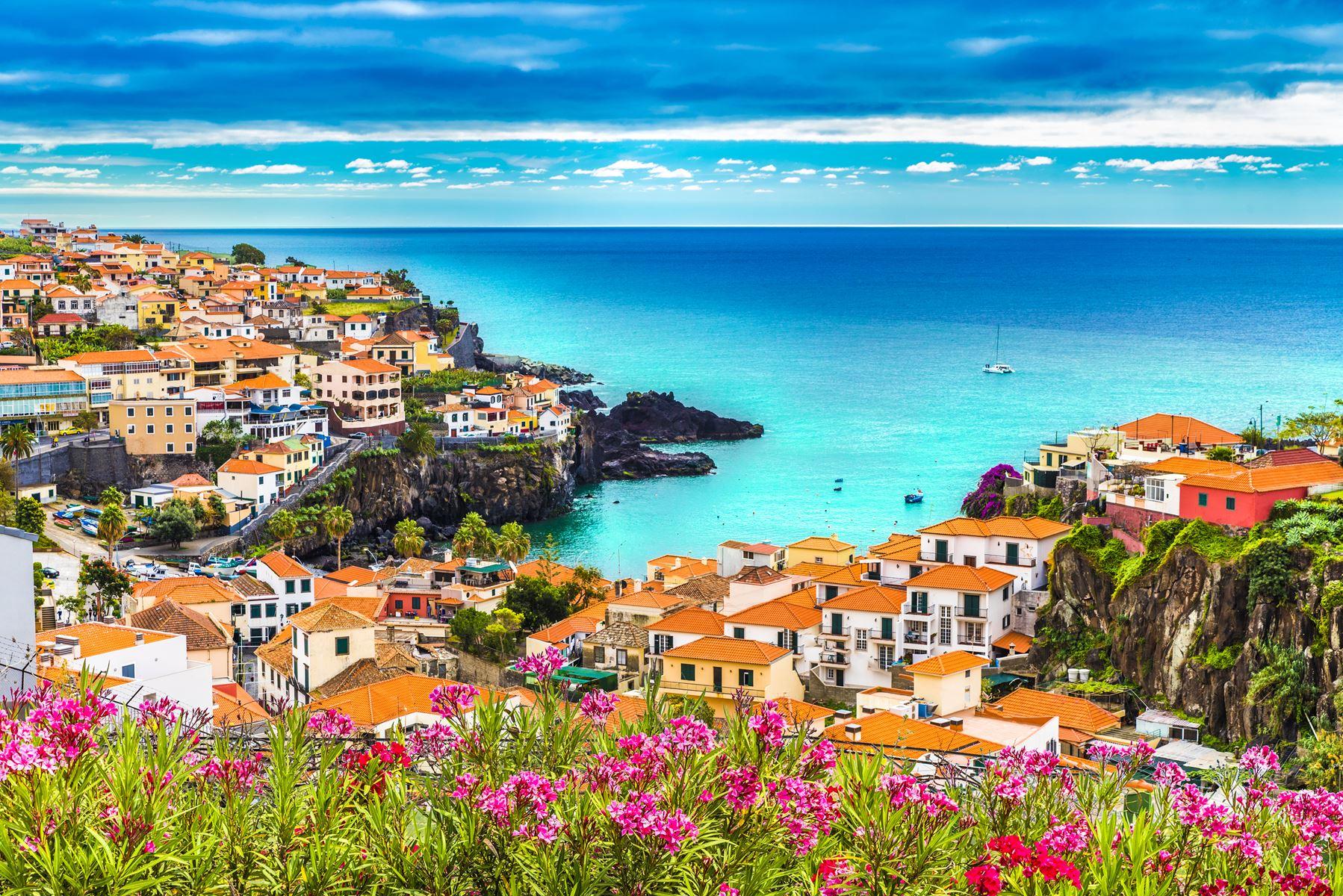 Madeira Dorp Aan Kust