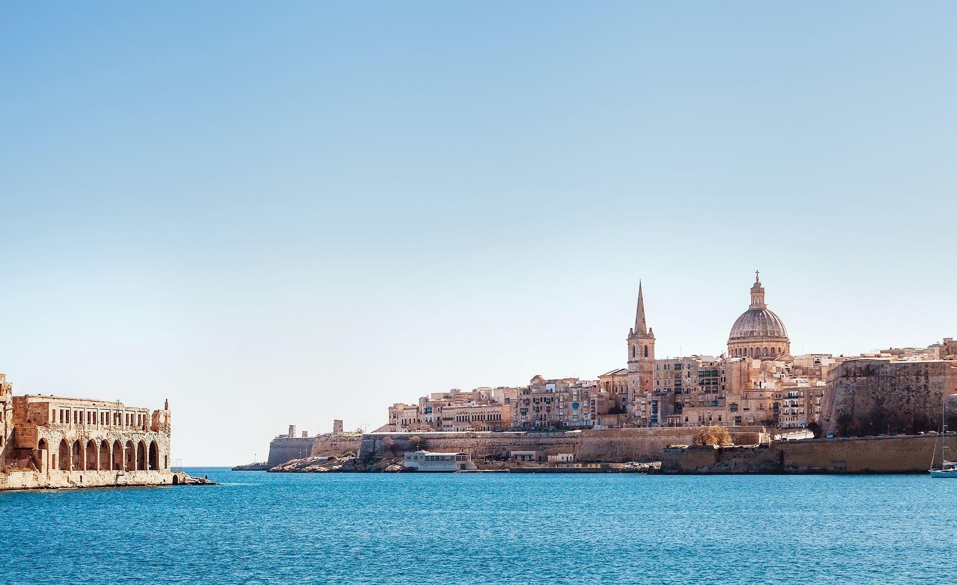 Malta Valletta Stad