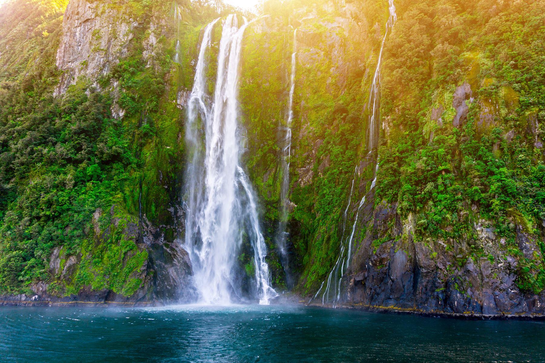 Nieuw-Zeeland Waterval