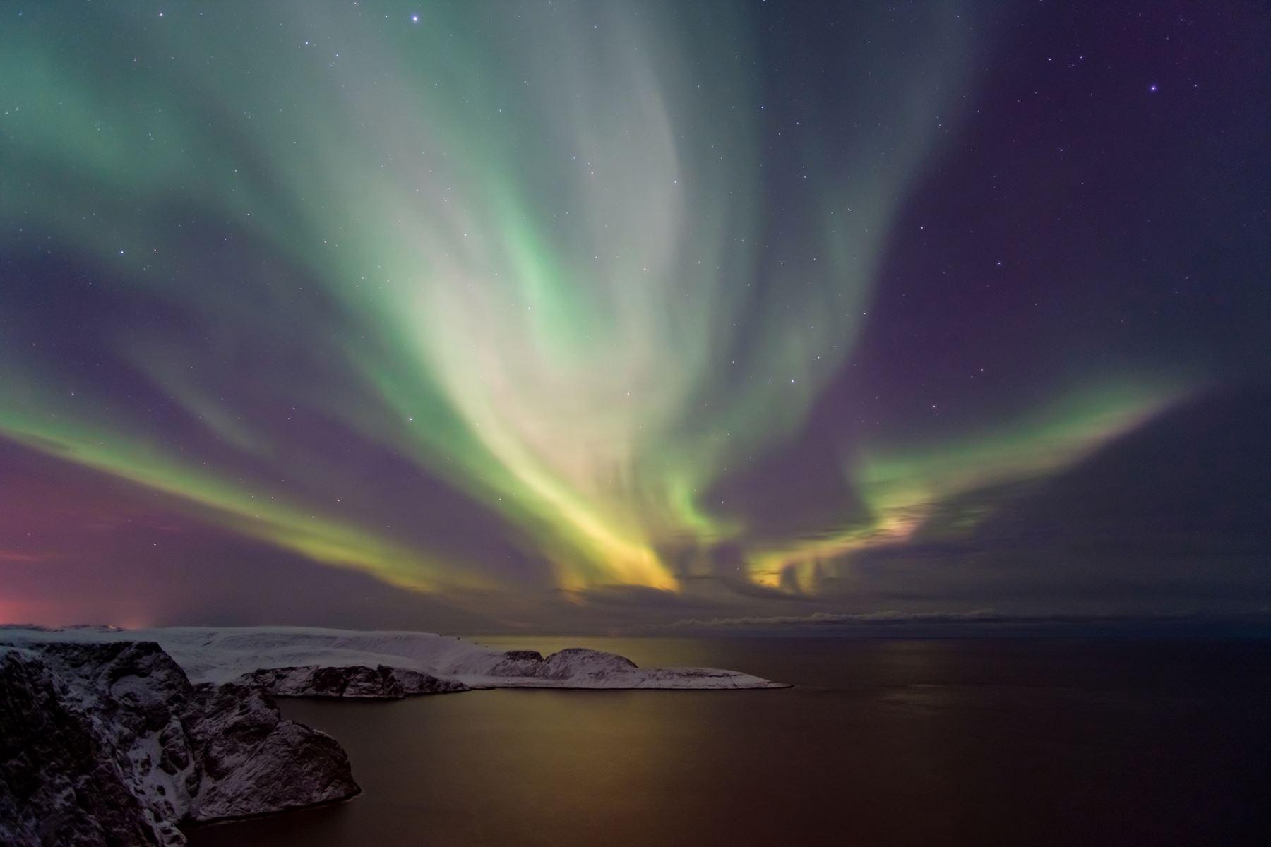 Noordkaap Noorderlicht