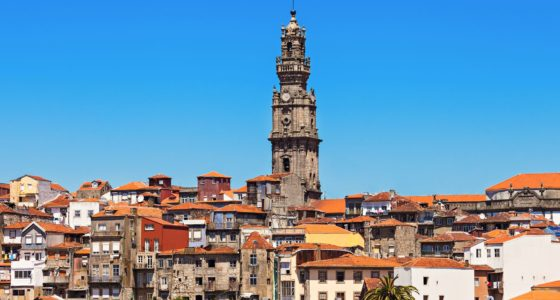 Porto station en kerken