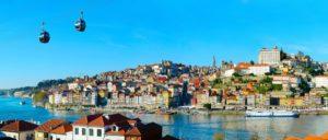 Panorama beeld van Porto