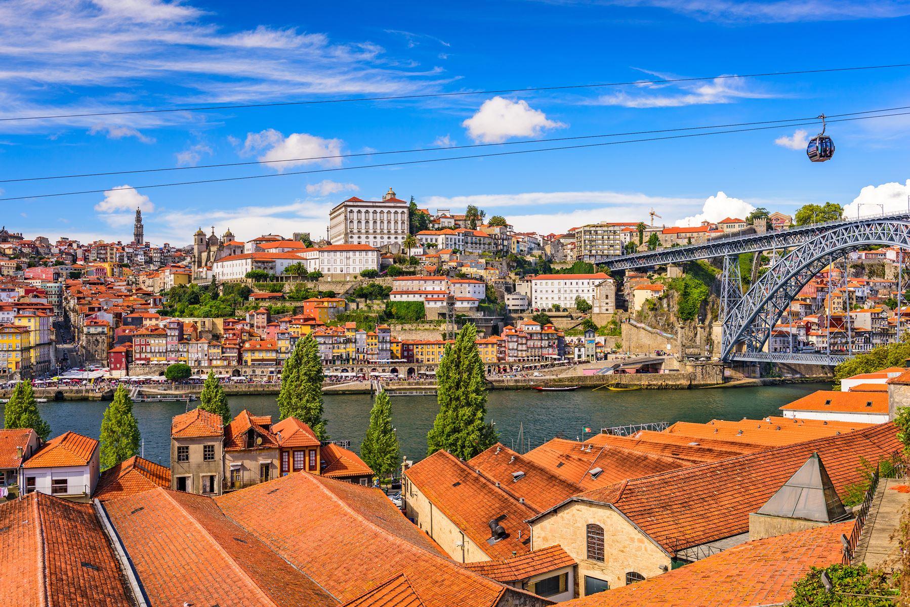 Porto Old Town Stad