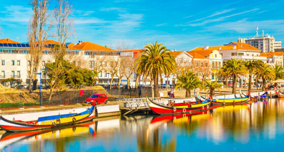 De leuke bootjes in Aveiro - Portugal