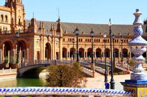 Plaza Espana Andalusië